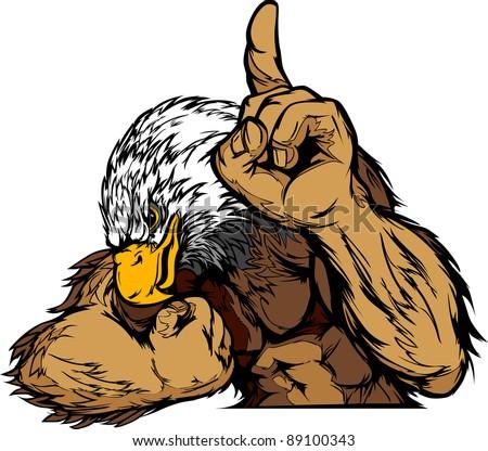 cartoon vector mascot image of