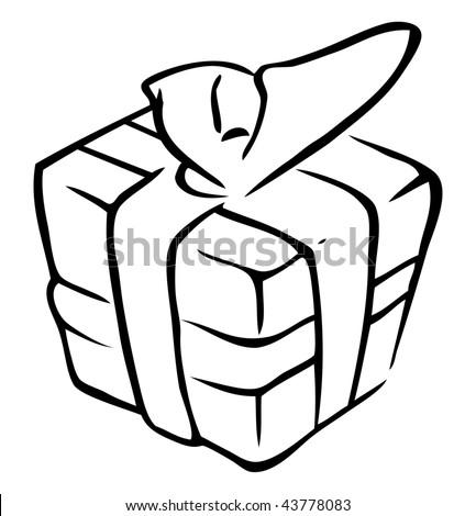 ... 470 jpeg 29kB, Christmas Present Outline | New Calendar Template Site