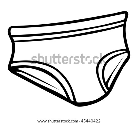 coloring pages underwear - photo#22