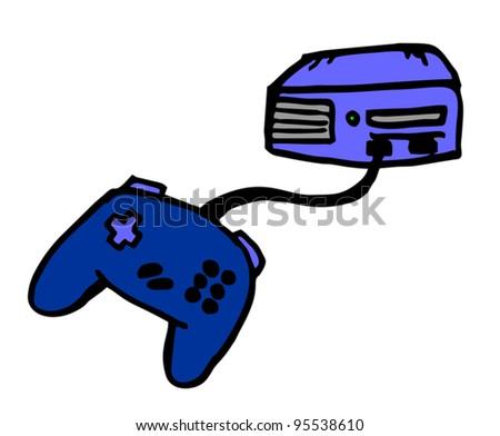 Cartoon video game