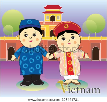 cartoon vietnam tradition