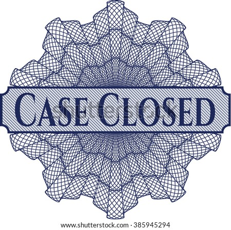 Case Closed abstract rosette