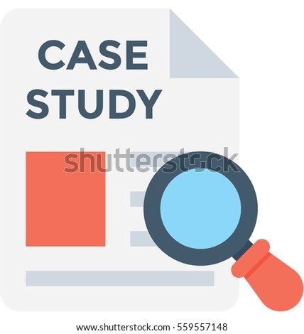 Case Study Vector Icon