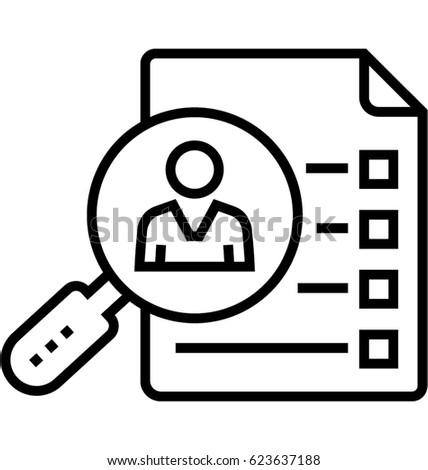 Case Study Vector Icon