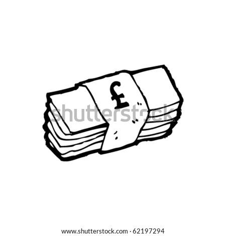 cash cartoon