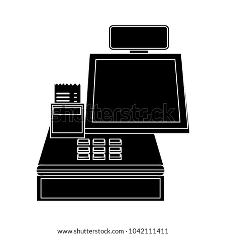 cashier machine icon