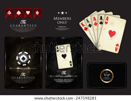casino card design collection