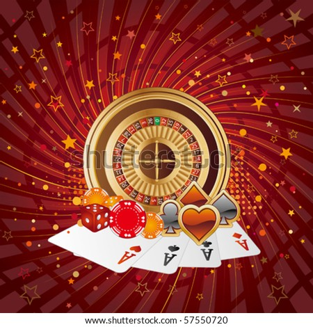casino design elements abstract