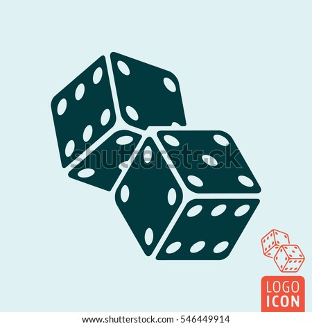 casino dice icon two game