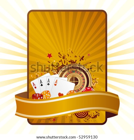 casino elements,gambling background