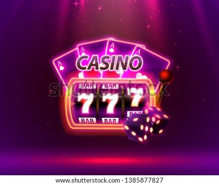 casino neon cover  slot