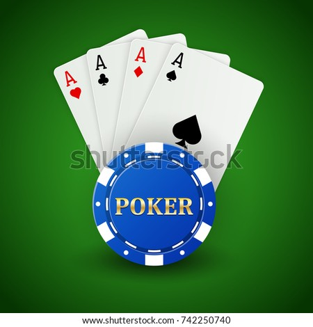 casino poker background ace