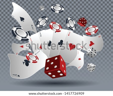 casino poker card design 3d