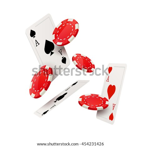 casino poker design template