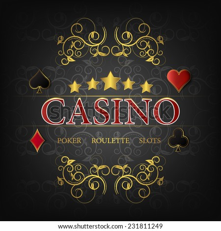 casino vector illustration for