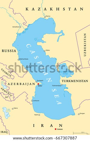 caspian sea region political