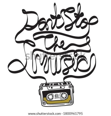 cassette tape music quote