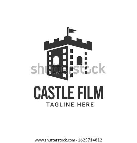castle film maker logo design