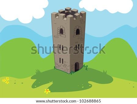castle in the meadow