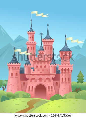 castle in the mountains king's