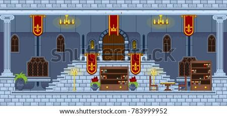 castle interior level design