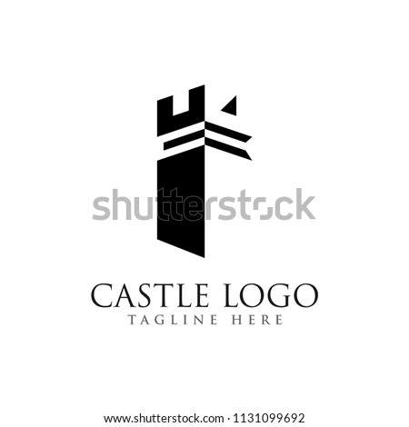 castle logo design  palace logo
