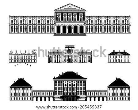 castles  palaces and mansions