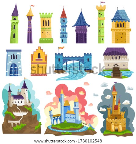 castles towers and fortresses