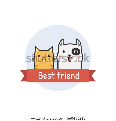 cat and dog are best friend