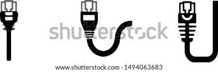 cat 5 ethernet connector icon
