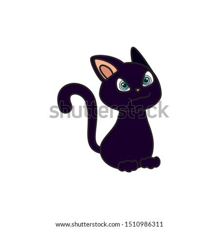 cat feline animal of halloween