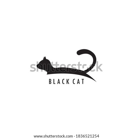 cat icon logo vector template