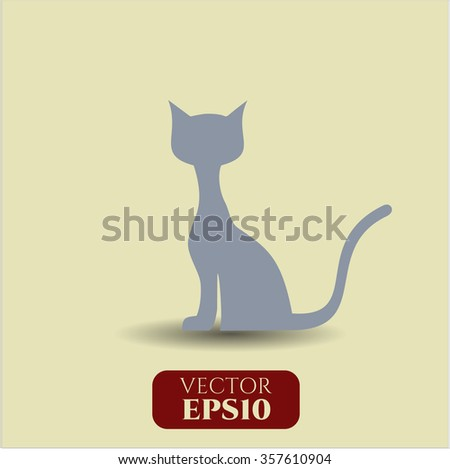 Cat icon or symbol