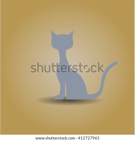 Cat icon or symbol
