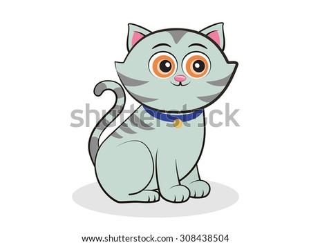 cat illustration  vector