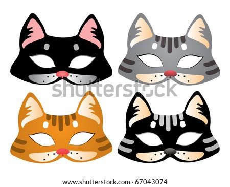 Маски котов своими руками