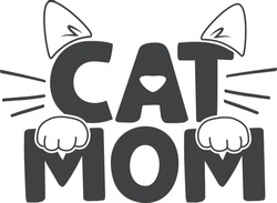 Cat mom   Pet mom quote