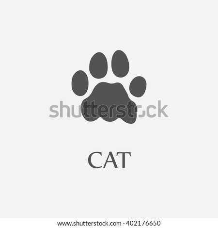 cat paw cat paw vector cat