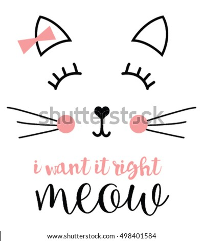 Cat print,cat graphic,cat illustration,cat design,cat