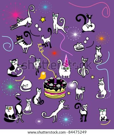 Cat\'s birthday party