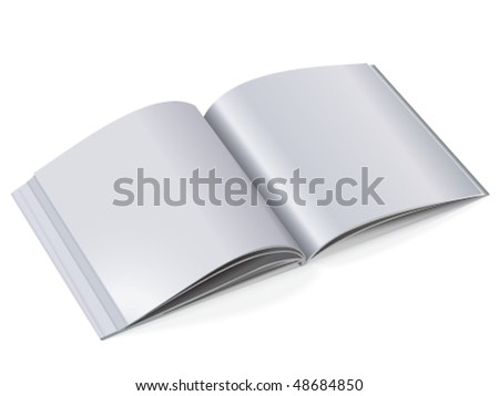 Catalog with light tone pages