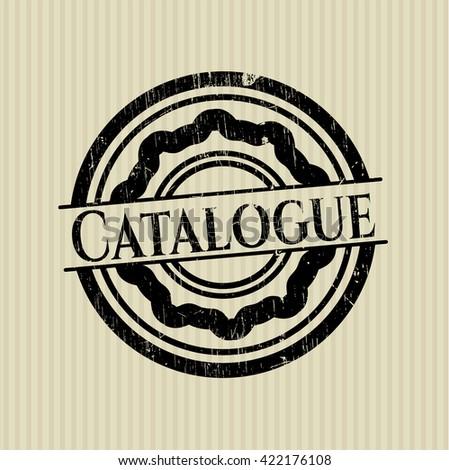 Catalogue rubber grunge seal