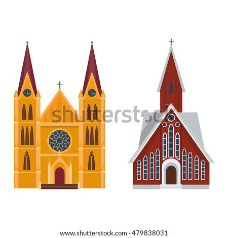 cathedral and churche