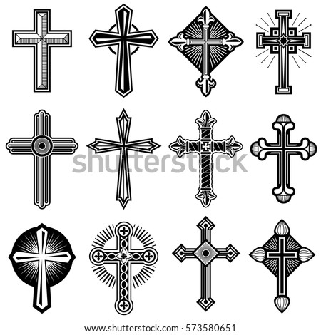 catholic christian cross with...