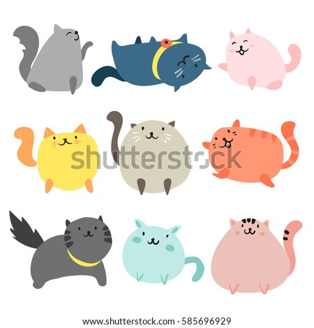 cats character design