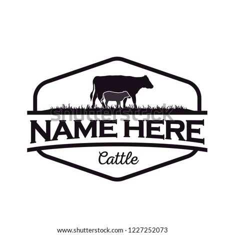 cattle logo design inspiration