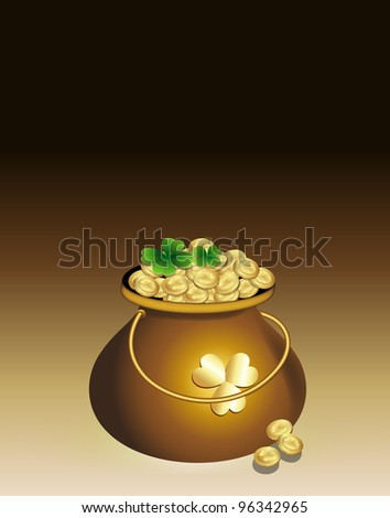Cauldron of Gold Coins