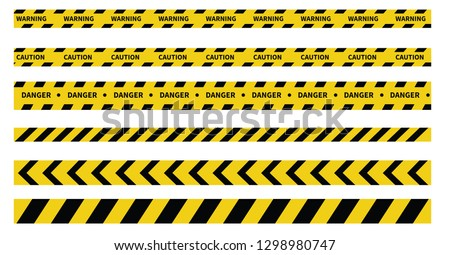 caution and danger tapes