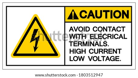 caution avoid contact with