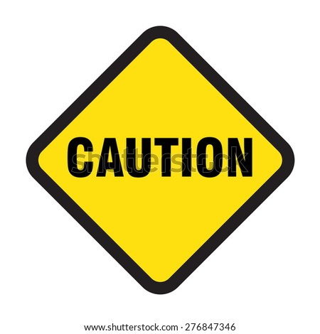 caution vector sign
